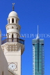 BAHRAIN, Manama, Al Yateem Mosque, and Financial Harbour Tower, BHR1108JPL