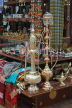 BAHRAIN, Manama, Bab Al Bahrain souq, shop with water pipes, BHR222JPL