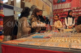 BAHRAIN, Manama, Bahrain Exhibition Centre, Autumn Fair, imitation jewellery stall, BHR12JPL