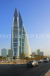 BAHRAIN, Manama, World Trade Centre towers, and Kind Faisal Highway, BHR272JPL