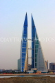 BAHRAIN, Manama, World Trade Centre towers, dusk view, BHR1912JPL