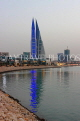 BAHRAIN, Manama, World Trade Centre towers, dusk view, BHR1914JPL