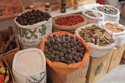 BAHRAIN, Manama, traditional souk, dried fruit and spices, BHR284JPL
