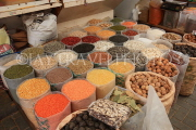 BAHRAIN, Manama, traditional souk, pulses and dried fruit, BHR298JPL