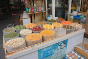 BAHRAIN, Manama, traditional souk, pulses and spices, BHR286JPL