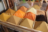 BAHRAIN, Manama, traditional souk, spice stall, BHR292JPL