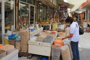 BAHRAIN, Manama, traditional souk, spices and dried food stalls, BHR288JPL