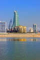BAHRAIN, Manama, view towards financial business area, BHR1218JPL