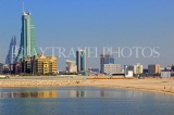 BAHRAIN, Manama, view towards financial business area, BHR1219JPL