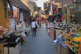 BAHRAIN, Manama Souk (Souq), narrow street and shops, BHR701JPL