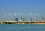 BAHRAIN, Manama skyline, view from Arad Fort, BHR577JPL