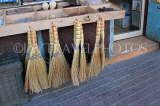 BAHRAIN, Muharraq, Souk (souq), shop selling traditional hand made brooms, BHR854JPL