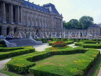 Belgium, BRUSSELS, Royal Palace (Palais du Roi) and gardens, BRS29JPL