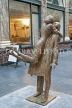 Belgium, BRUSSELS, St Hubert Shopping Arcade (Galerie de la Reine), sculpture display, BEL338JPL