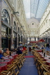 Belgium, BRUSSELS, St Hubert Shopping Arcade and cafes, BRS109JPL