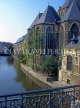 Belgium, GHENT, St Michel's Church and Leie Canal, GH6JPL