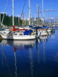 CANADA, British Columbia, VANCOUVER, Coal Harbour, Yachting Marina, CAN620JPL
