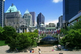CANADA, British Columbia, VANCOUVER, Downtown, Robson Square, CAN927JPL