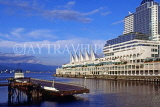 CANADA, British Columbia, VANCOUVER, Downtown and Canada Place, CAN926JPL