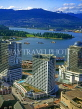 CANADA, British Columbia, VANCOUVER, Downtown and harbour view, CAN1002JPL