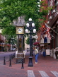 CANADA, British Columbia, VANCOUVER, Gastown (historic area), Steam Clock, CAN583JPL