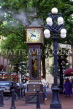 CANADA, British Columbia, VANCOUVER, Gastown (historic area), Steam Clock, CAN651JPL