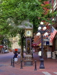 CANADA, British Columbia, VANCOUVER, Gastown (historic area), Steam Clock, CAN957JPL