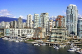 CANADA, British Columbia, VANCOUVER, Granville Island, buildings, CAN866JPL