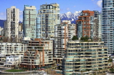 CANADA, British Columbia, VANCOUVER, Granville Island and buildings, downtown, CAN896JPL