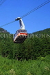CANADA, British Columbia, VANCOUVER, Grouse Mountain, Skyride cable car, CAN955JPL