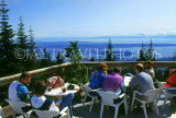 CANADA, British Columbia, VANCOUVER, Grouse Mountain, cafe scene, CAN598JPL