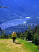 CANADA, British Columbia, VANCOUVER, Grouse Mountain scenery, CAN594JPL
