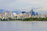 CANADA, British Columbia, VANCOUVER, Kitsilano beach and Downtown Vancouver, CAN883JPL