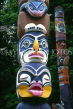CANADA, British Columbia, VANCOUVER, Stanley Park, Totem Pole, CAN595JPL