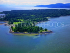 CANADA, British Columbia, VANCOUVER, Stanley Park, aerial view, CAN585JPL