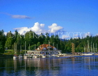 CANADA, British Columbia, VANCOUVER, Stanley Park and Royal Vancouver Yacht Club, CAN624JPL