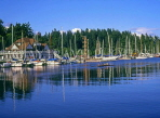 CANADA, British Columbia, VANCOUVER, Stanley Park and Royal Vancouver Yacht Club, CAN632JPL
