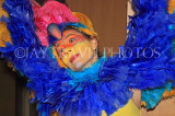 COLOMBIA, cultural dancer in colourful costume, COL26JPL