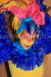 COLOMBIA, cultural dancer in colourful costume, COL33JPL