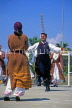 CYPRUS, Larnaca, cultural show, dance, balancing glasses on head, CYP523JPL