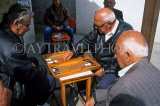 CYPRUS, Larnaca, old town, locals playing Backgammon (traditional pastime), CYP308JPL