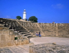 CYPRUS, Paphos, Kato Paphos, 2nd century ODEON and lighthouse, CYP245JPL