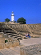 CYPRUS, Paphos, Kato Paphos, 2nd century ODEON and lighthouse, CYP246JPL