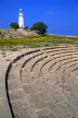 CYPRUS, Paphos, Kato Paphos, 2nd century ODEON and lighthouse, CYP518JPL