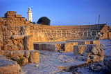 CYPRUS, Paphos, Kato Paphos, 2nd century ODEON and lighthouse, CYP529JPL