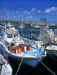 CYPRUS, Paphos, Kato Paphos, fishing boats at harbour, CYP234JPL