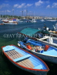 CYPRUS, Paphos, Kato Paphos, fishing boats at harbour, CYP235JPL