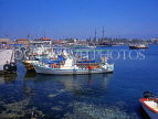 CYPRUS, Paphos, Kato Paphos, fishing boats in harbour, CYP227JPL