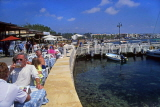 CYPRUS, Paphos, Kato Paphos, harbourfront and cafes, CYP400JPL