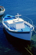 CYPRUS, Paphos, Kato Paphos, small fishing boat in harbour, CYP519JPL